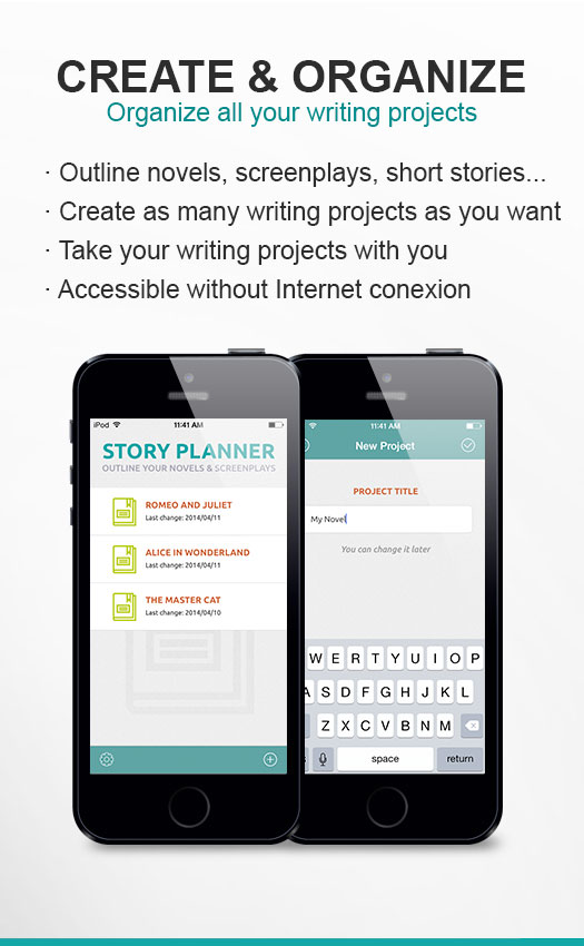 Organize all your writing projects