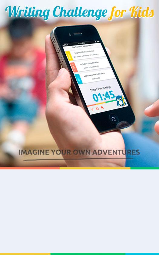 Creative writing app for kids